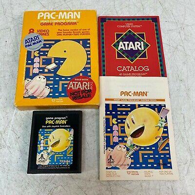 Pac-Man Complete Atari 2600 Game In Box Boxed CIB Original