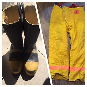 Morning Pride Fire Pants & Thorogood Hellfire Fire Boots