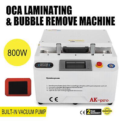 5-in-1 LCD Écran Réparation Vide OCA Laminage Bubbles Remove Machine 1500W 230V