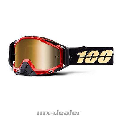 2019 100 % Racecraft verspiegelt Hot Rod MX Motocross Cross Brille MTB BMX DH