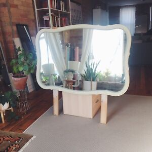 Vintage French Provincial Mirror