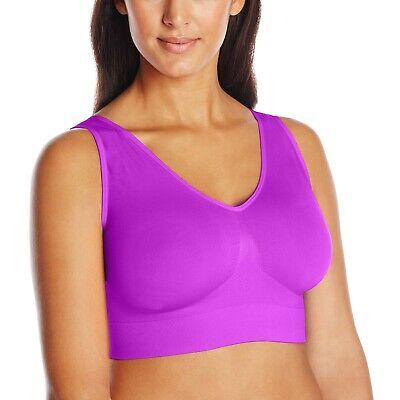 Just My Size Women's Pure Comfort Plus Size Bra in Purple - 1263