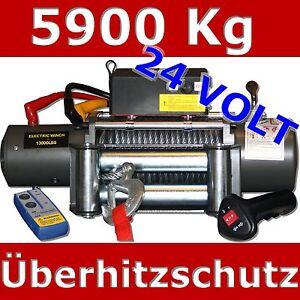 Argano elettrico verricello 5900kg 24v 24 volt argano for Argano elettrico 220v con telecomando