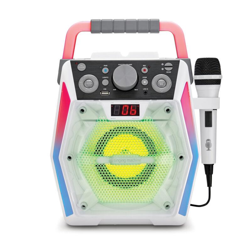 Singing Machine Karaoke Glow, SML2200, Bluetooth, New