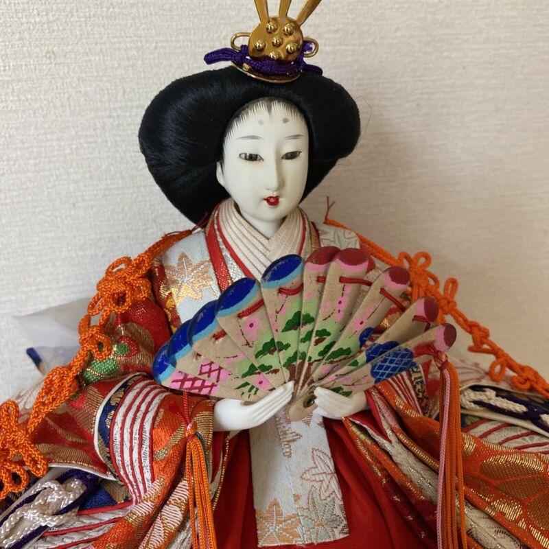 Japanese doll Gaisha Emperess Gorgeous Antique kimono princess tatami mat Zen #3