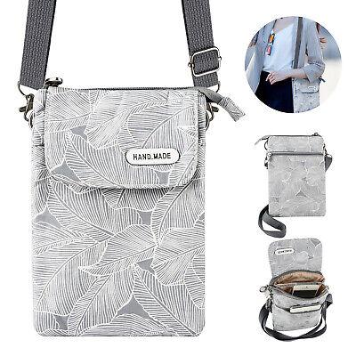Women Small Cross-body Cell Phone Case Shoulder Bag Purse Po