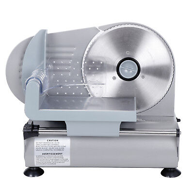 Commercial 7.5 Blade Electric Meat Slicer 150w 0-19mm Deli Food Cheese Veggies