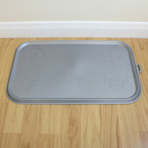 Rubber Cat Food Tray