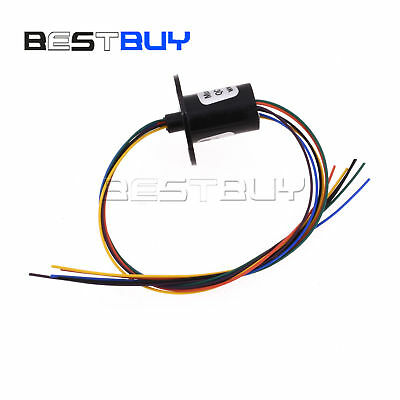 12.5mm 300rpm 6 Wires Circuits 2a Capsule Slip Ring Schleifring 240v Bbc