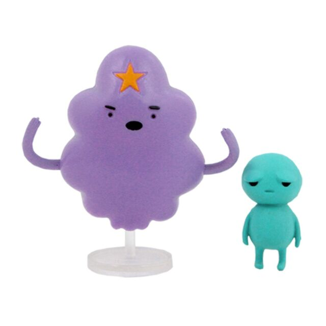 Adventure Time- 3 Inch Lumpy Space Princess & Brad Collectible Figures-Special