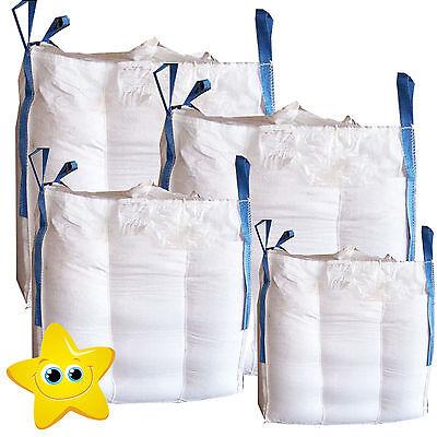 10 x 1 Ton  Bulk Bag Builders Rubble Sack FIBC  Tonne Jumbo Waste Storage