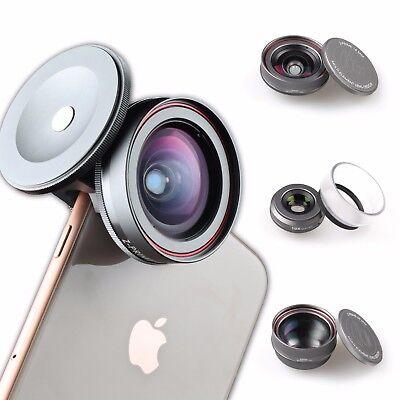 Z-PRIME Measureless 3 + 1 LENS KIT for Apple iPhone, Samsung Galaxy & Google Pixel