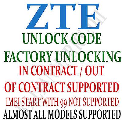 Unlock code ZTE Cymbal Z-320 Z Walmart Family Mobile  Prepaid Camera Phone