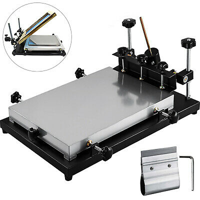 Solder Paste Printer Pcb Smt Stencil Printer 440x320mm Manual Press Printer
