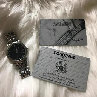 second hand longines watch