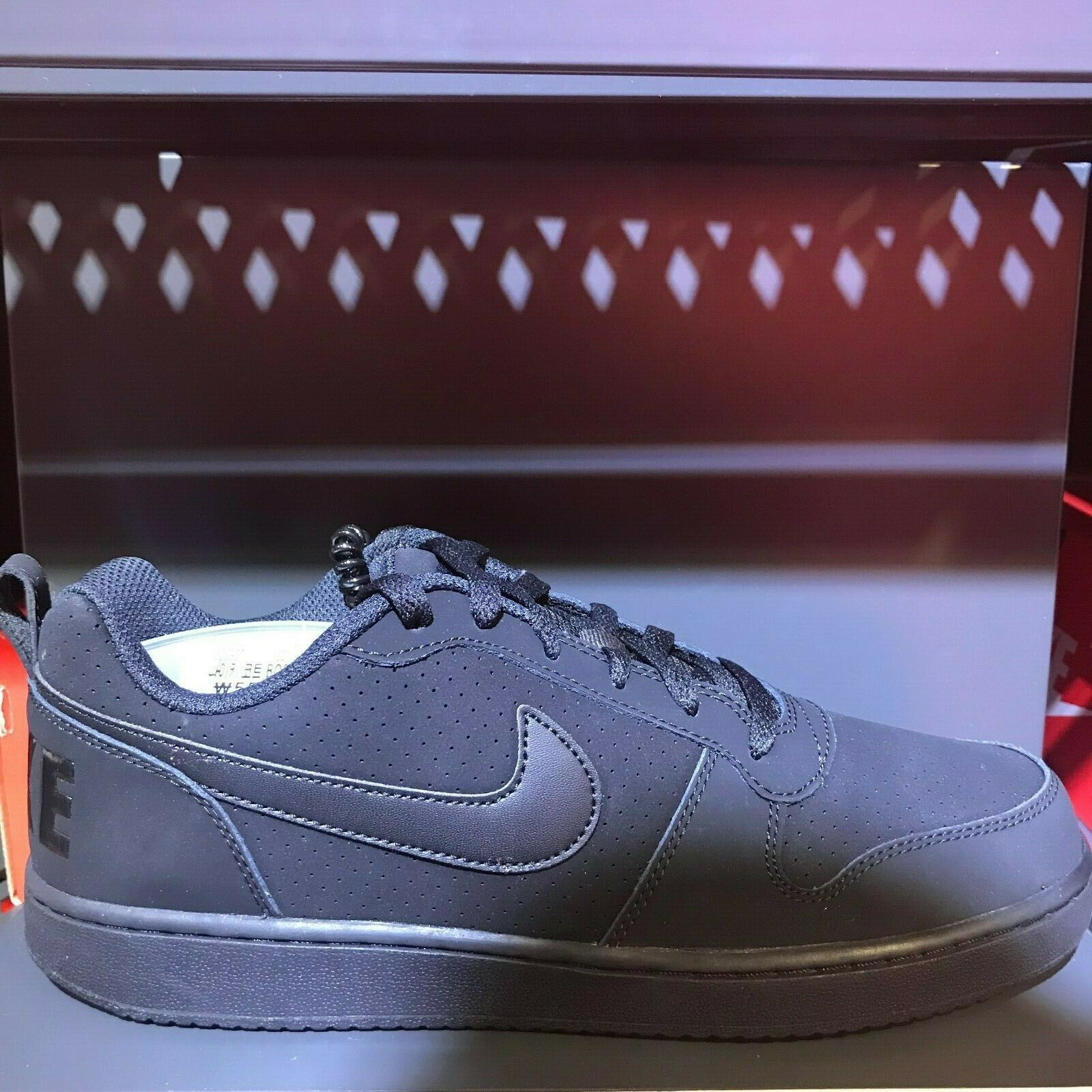 online store 9dcd5 d146a Nike Men s Court Borough Low Sneakers Shoes Black 838937-000 SZ 5-12. Brand  New with tag and Original Box.   Limited quantity  . black