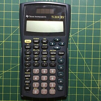 Texas Instrument Ti-30x2s 2 line Scientific Calculator - Black -Tested