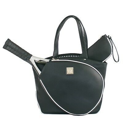 b524dee7dd Court Couture Cassanova Black Pebble Tennis Bag (Brand New, Slightly  Irregular)
