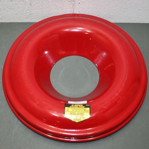 Justrite Cease-Fire Extinguishing Head 26312, Red, 12-15 gal. Drum Cover, Lid