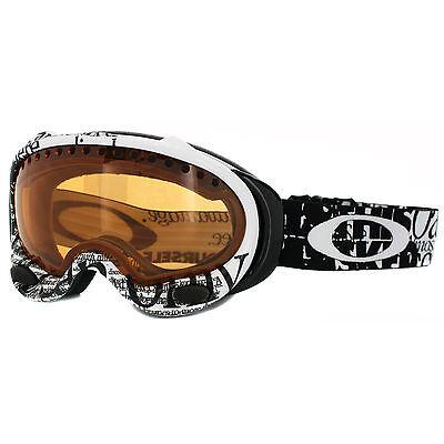 Oakley Ski Snow Goggles A Frame 59-338 Tagline Black Persimmon