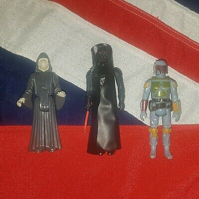 Vintage Star Wars Kenner Action Figures Job Lot Bundle Boba Fett The Mandalorian