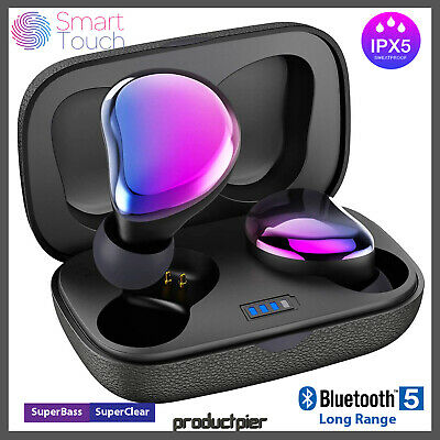 Best True Wireless Earbuds, Bluetooth 5.0 Earphones w/ 66FT Range IPX5 20H