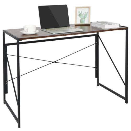 Computer Writing Desk Folding Study Table Wall Side Table With Foldable Legs Furniture