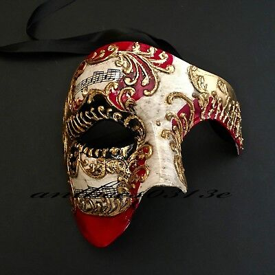 Musical Various accent color Phantom Masquerade Ball Halloween Event Party Mask