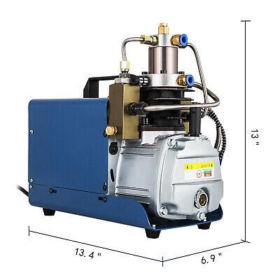 110v 30mpa 4500psi Air Compressor Pump Pcp Electric High Pressure System Rifle