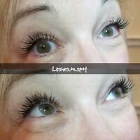 Lashes.on.spot mobile eyelash extension service