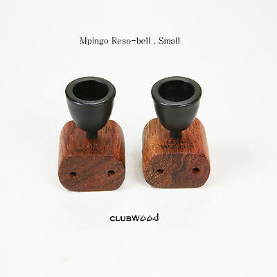 Audio Room Tuning Resonance Bell Small Ebony African Blackwood Mpingo clubWOOD