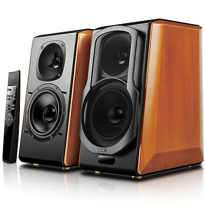 Edifier S2000pro Powered Bluetooth Bookshelf Speakers - Near