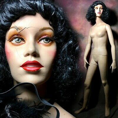 Dg Williams Mannequin Female Full Jr. Petite Realistic Teeth Rare Vtg Creepy