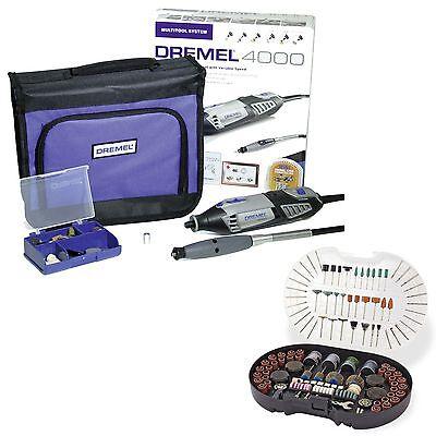 Dremel 4000-1/45 Multifunktionswerkzeug + Zubehör-Set für Minischleifer 278 tlg