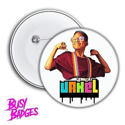 STEVE URKEL - URKEL Badges & Magnets - Family Matters Hipster Badge NEW 90's TV