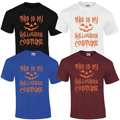 THIS IS MY HALLOWEEN COSTUME T SHIRT PUMPKIN  - This Is Halloween Pumpkins