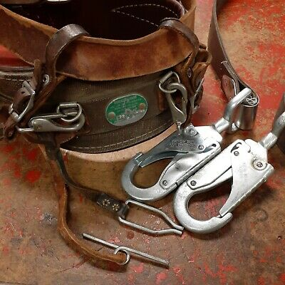 Buckingham Lineman Tree Climbing Belt And Lanyard D99