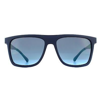 Hugo Boss Gafas de Sol 1073/S Fll GB Mate Azul Gris Azure...