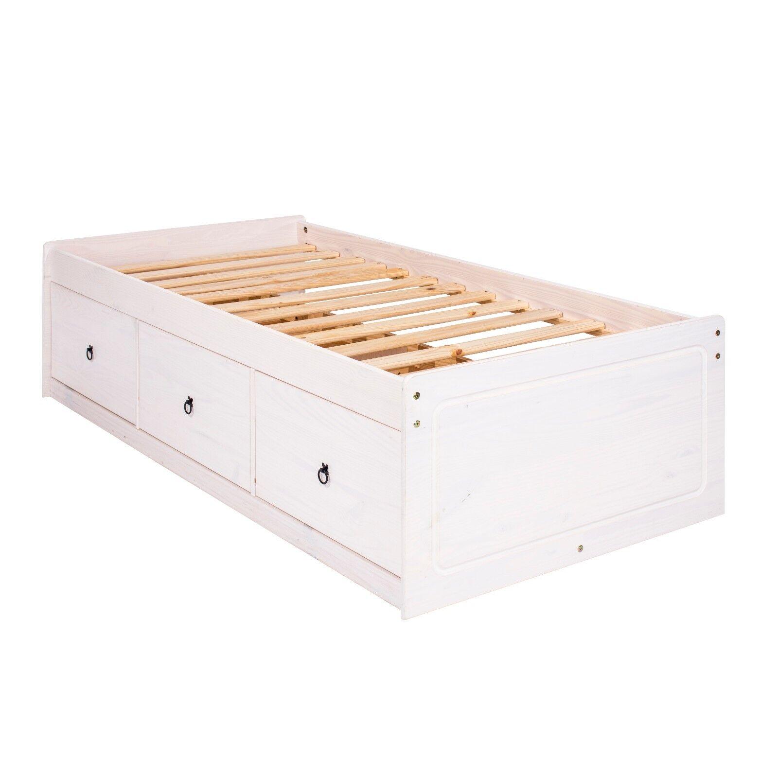 Corona Single cabin bed 3 drawers storage - Corona white home bedroom furniture  sc 1 st  eBay & Corona Single cabin bed 3 drawers storage - Corona white home ...