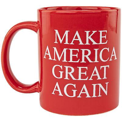 Make America Great Again President Donald Trump Republican Supporters Red Mug Dinnerware & Serveware