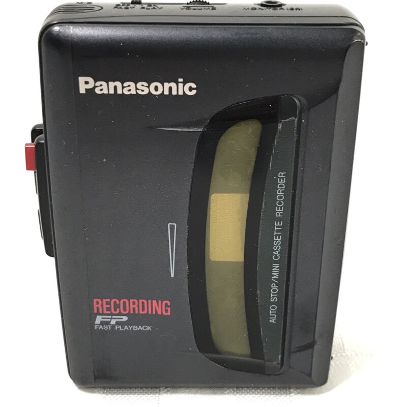 Panasonic RQ-L307 Cassette Recorder - sold as is