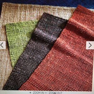 Brown Popcorn Jute Rug from Pier One 9x12