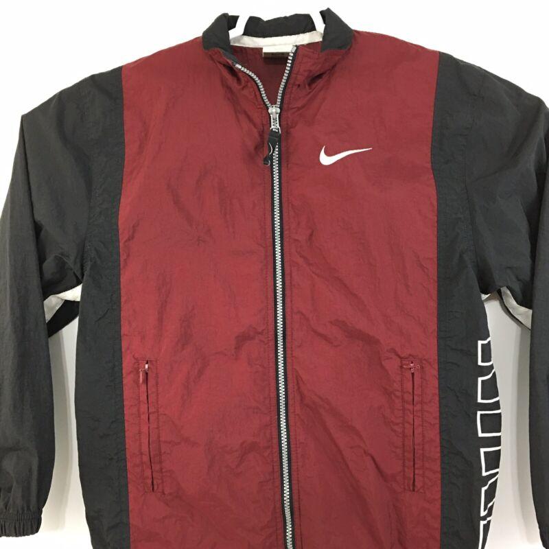 Vintage Nike Youth Size Medium 10/12 Windbreaker Jacket Women's Small #5432