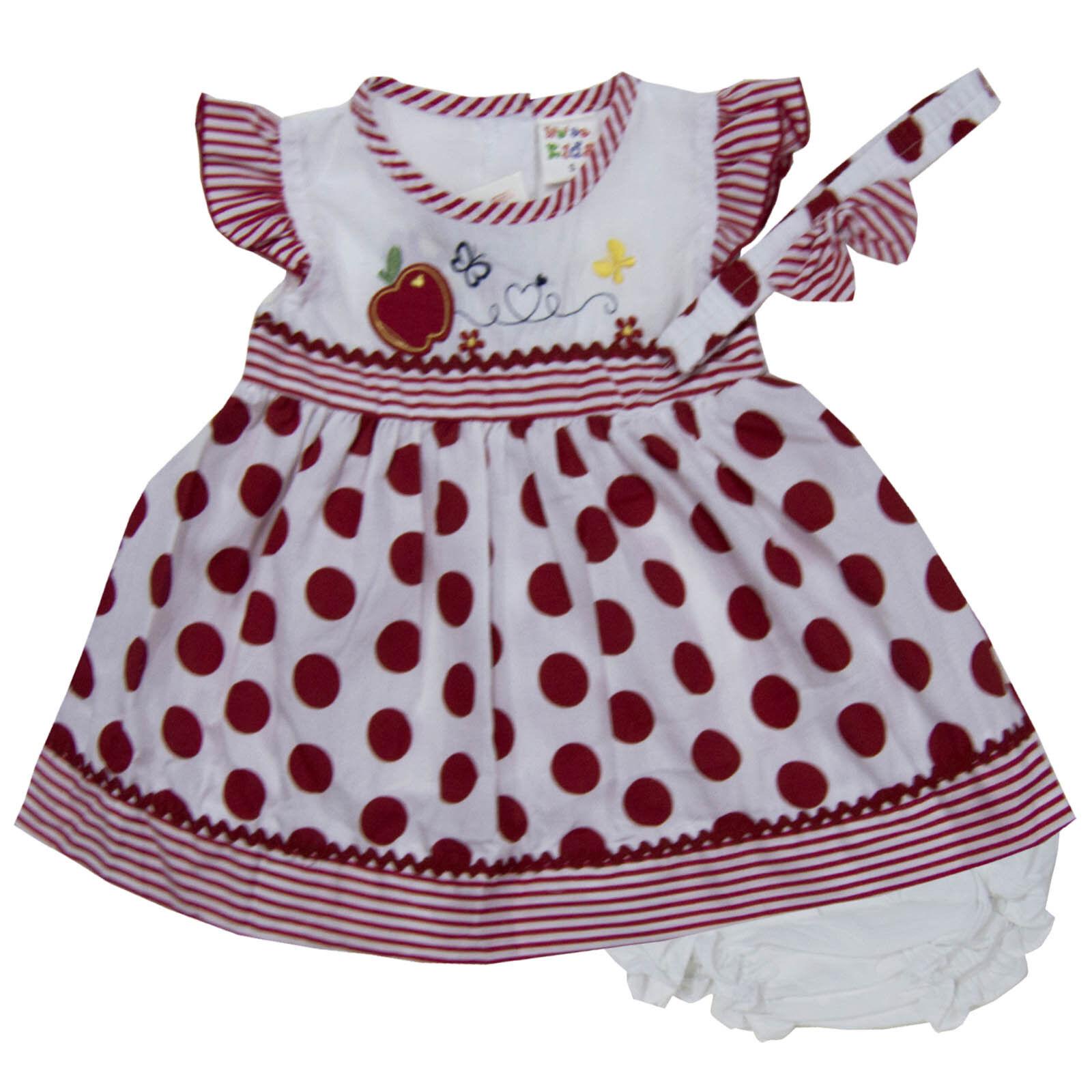 Infant Girls Dresses Sz 3-6 And 6-9 Months Girls' Clothing (newborn-5t)