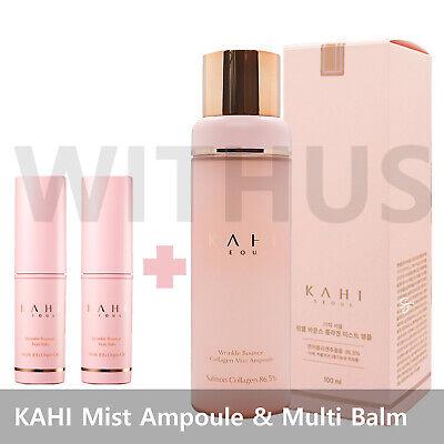 KAHI Wrinkle Bounce Collagen Mist Ampoule & Wrinkle Bounce Multi Balm Dual Set