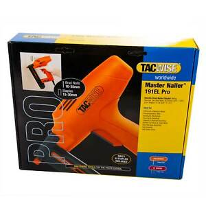 Tacwise 191EL Electric Brad Nailer/Stapler Nail/Staple Gun with Nails & Staples
