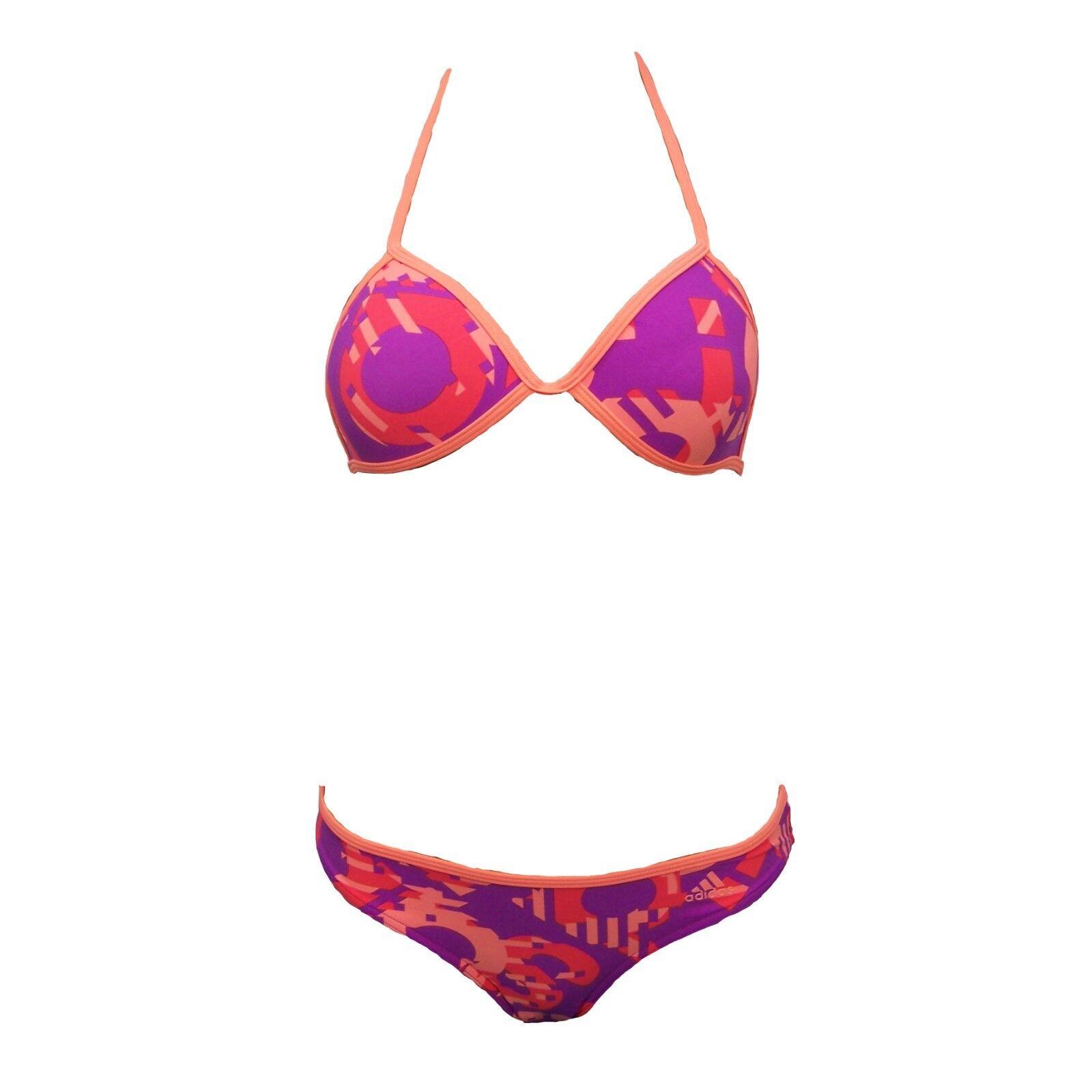 adidas Push Up Triangel Bikini Set Damen Frauen Gr. 32-42