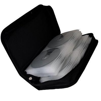 96 er TASCHE für CD/DVD/BLU-RAY AUFBEWAHRUNG BOX MAPPE FÜR CDs DVDs BD ROHLINGE