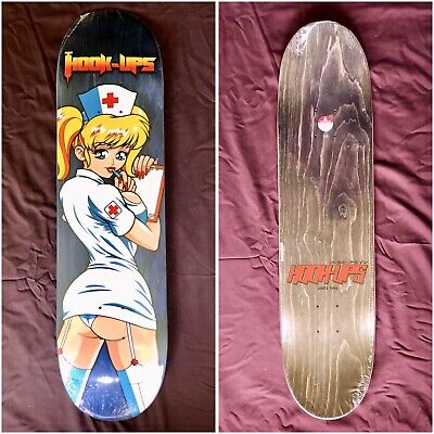 Hook Ups Nurse Angel Skateboard JK Industries Jeremy Klein
