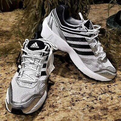 New Mens Adidas Supernova Glide 3 Running Shoes White & Black G49777 US Sz 8 Adidas Supernova Glide Shoes